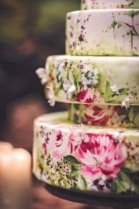 wedding cake dipinta 2