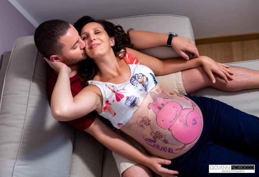 Belly painting novità servizi di maternità