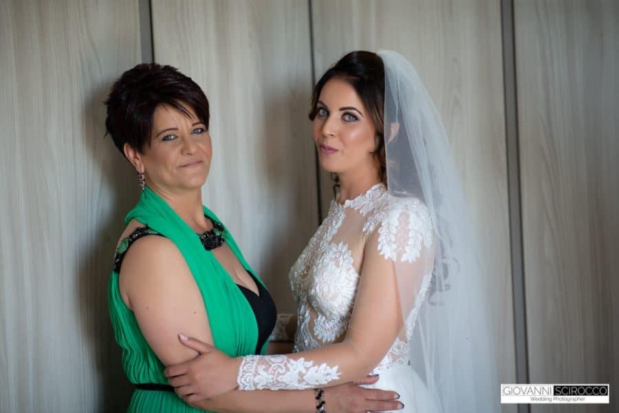 la mamma della sposa