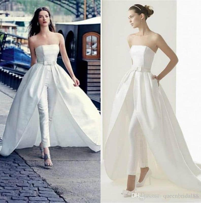 abiti da sposa  corti, il modello redingote, principessa e l'originale