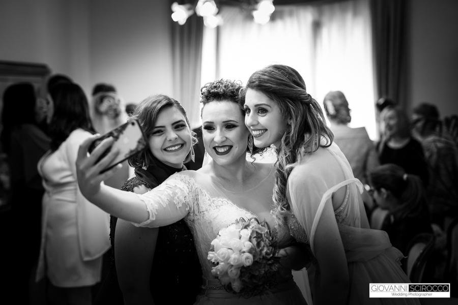 Selfie con la Sposa