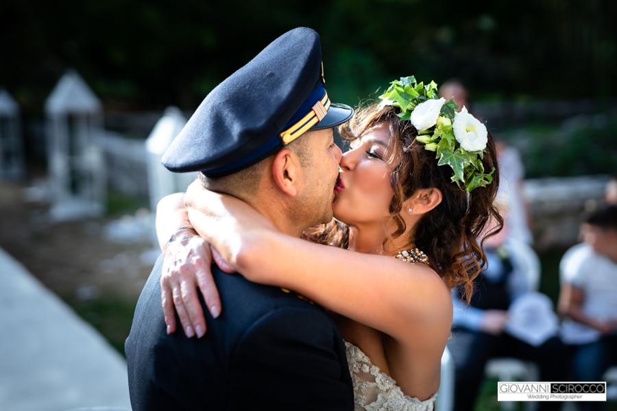 rito di matrimonio nei giardini di ninfa