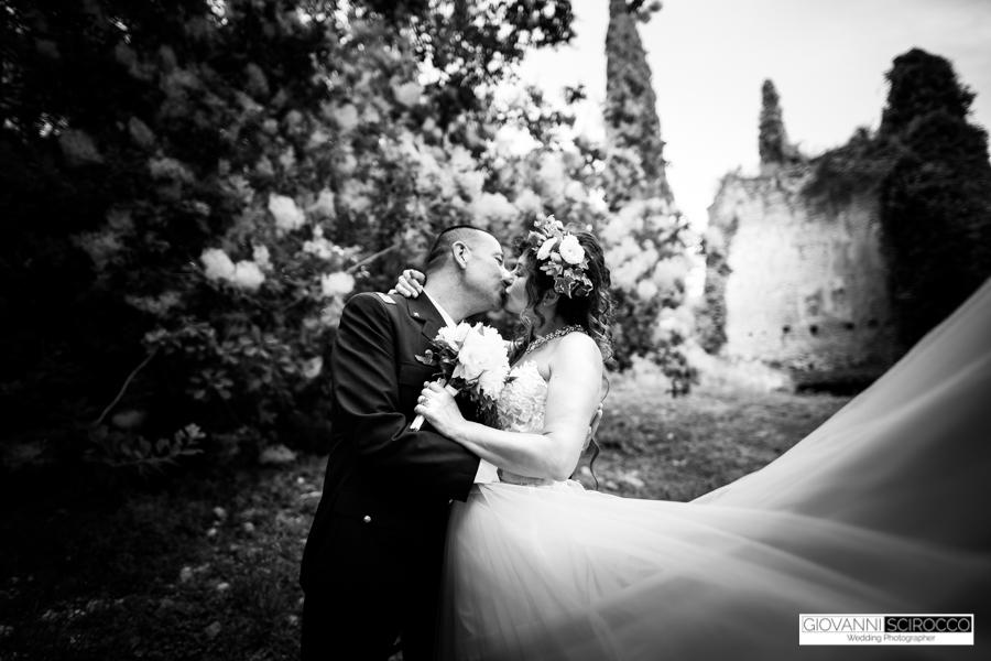 foto di matrimonio Ninfa