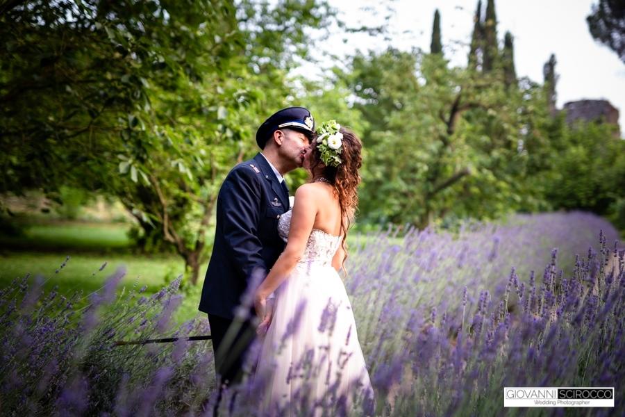 bacio sposi Ninfa