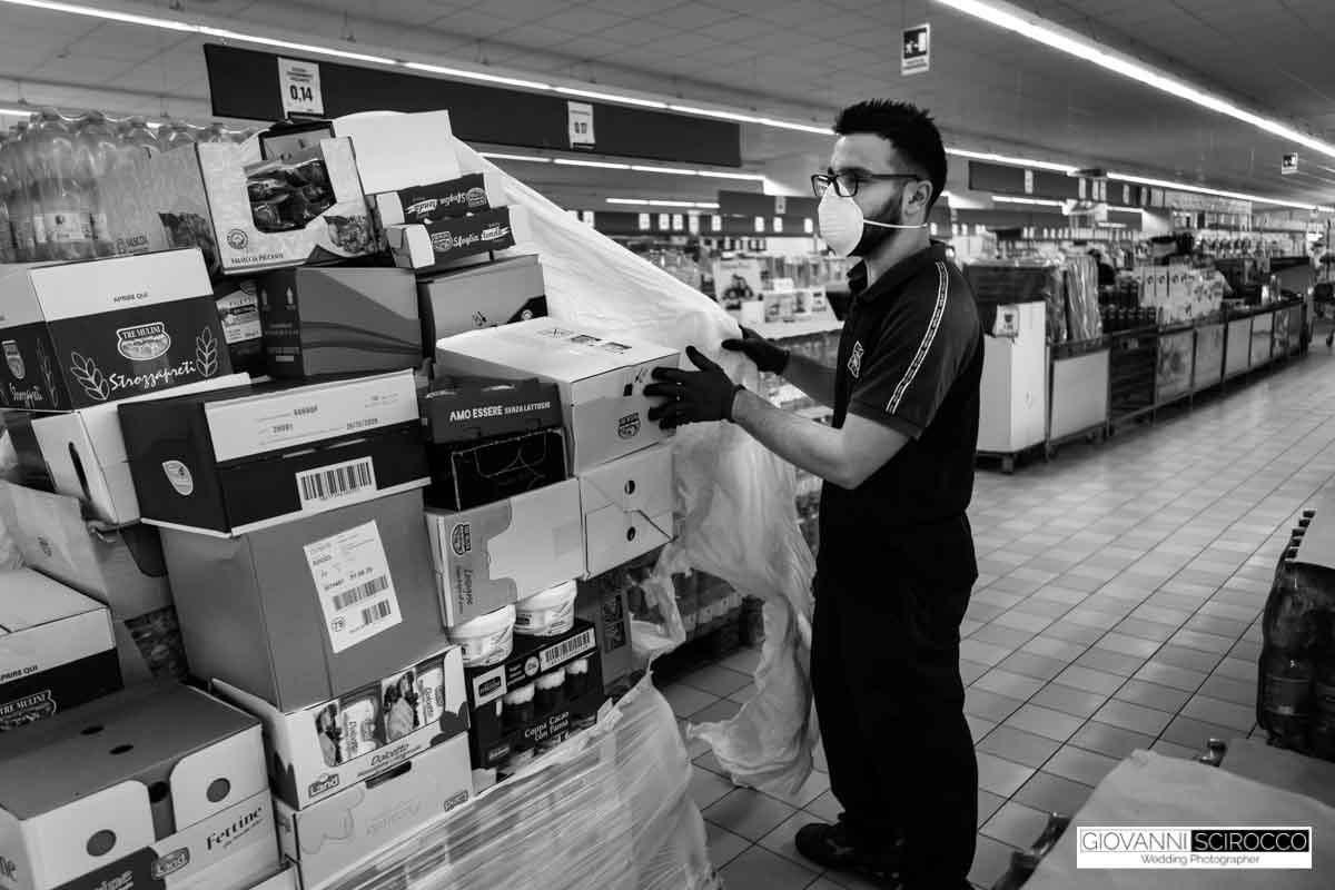 supermercato eurospin ai tempi del covid 19