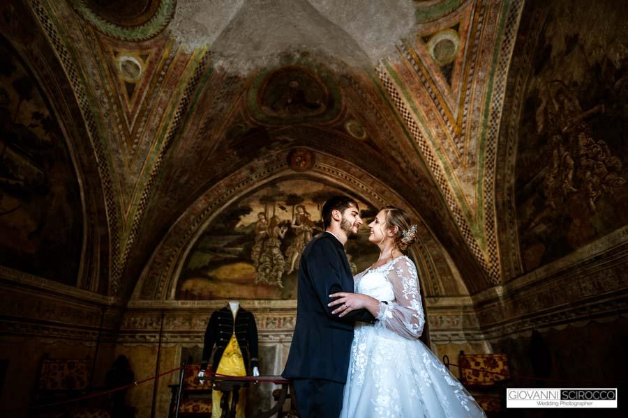 wedding in an Italian castle